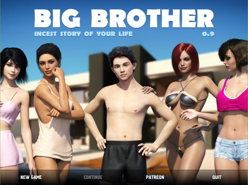 Big Brother Adult Game Cover