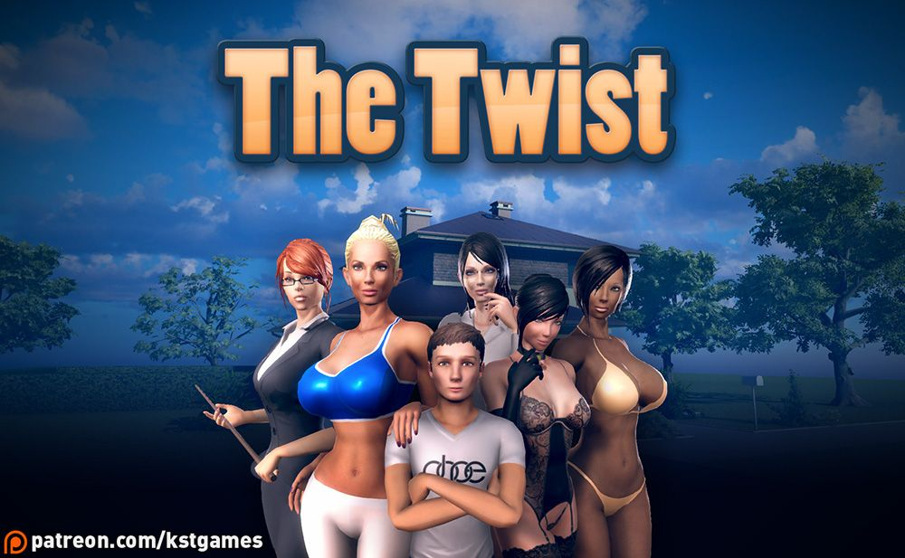 The Twist Adult Game Cover