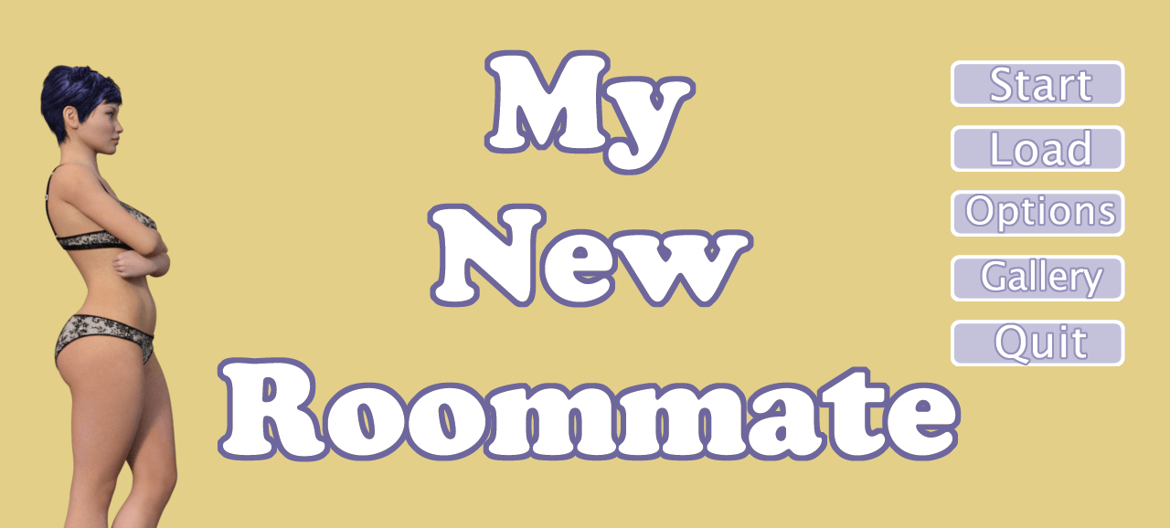 My New Roommate Adult Game Cover