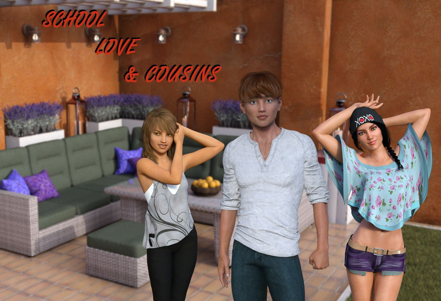 School, Love and Cousins Adult Game Cover