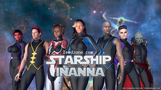 Starship Inanna Adult Game Cover
