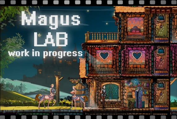 The Magus Lab Adult Game Cover