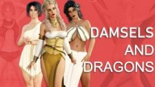 Damsels and Dungeons 18+ Adult game cover