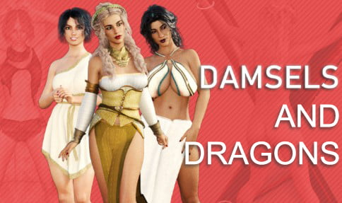 Damsels and Dungeons Adult Game Cover