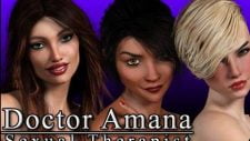 Dr. Amana, Sexual Therapist 18+ Adult game cover