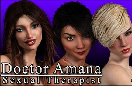 Dr. Amana, Sexual Therapist Adult Game Cover