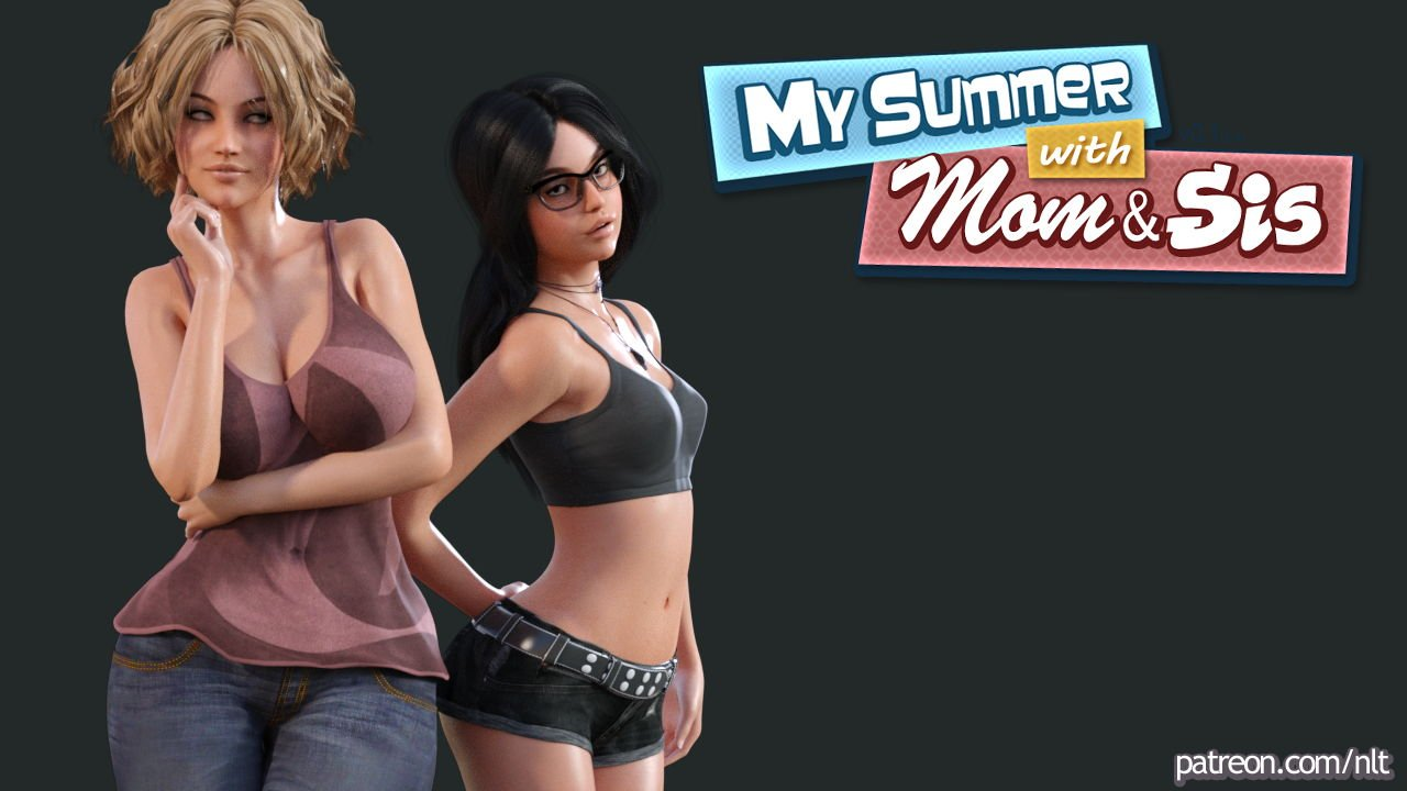 My Summer with Mom And Sis Adult Game Cover