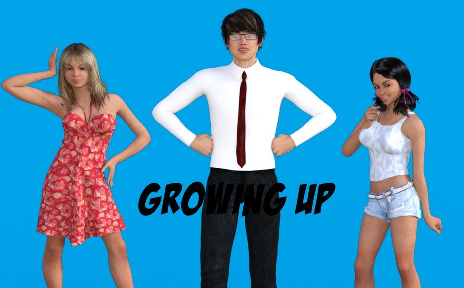 Growing Up Adult Game Cover