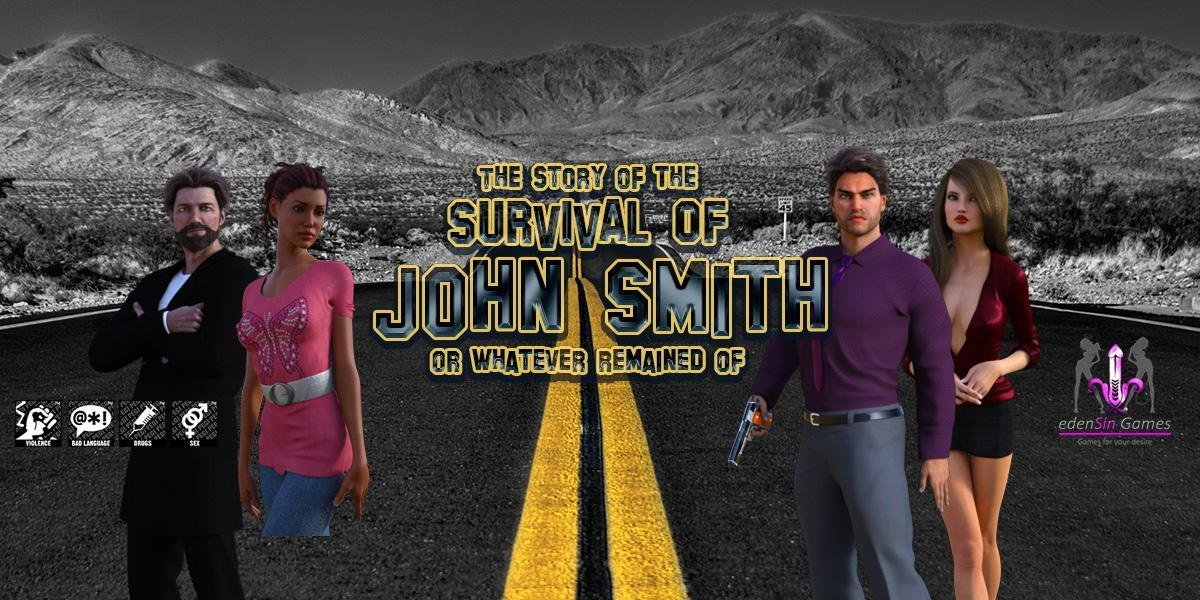 The Story Of The Survival Of John Smith III Adult Game Cover