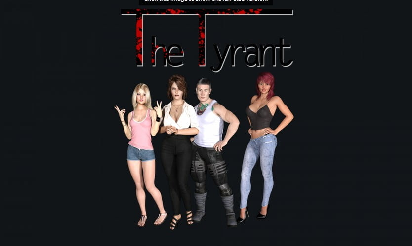 The Tyrant Adult Game Cover