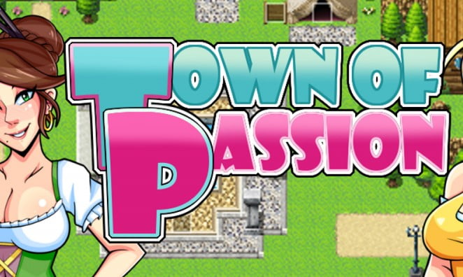 Town of Passion Adult Game Cover