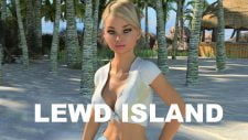 Lewd Island 18+ Adult game cover