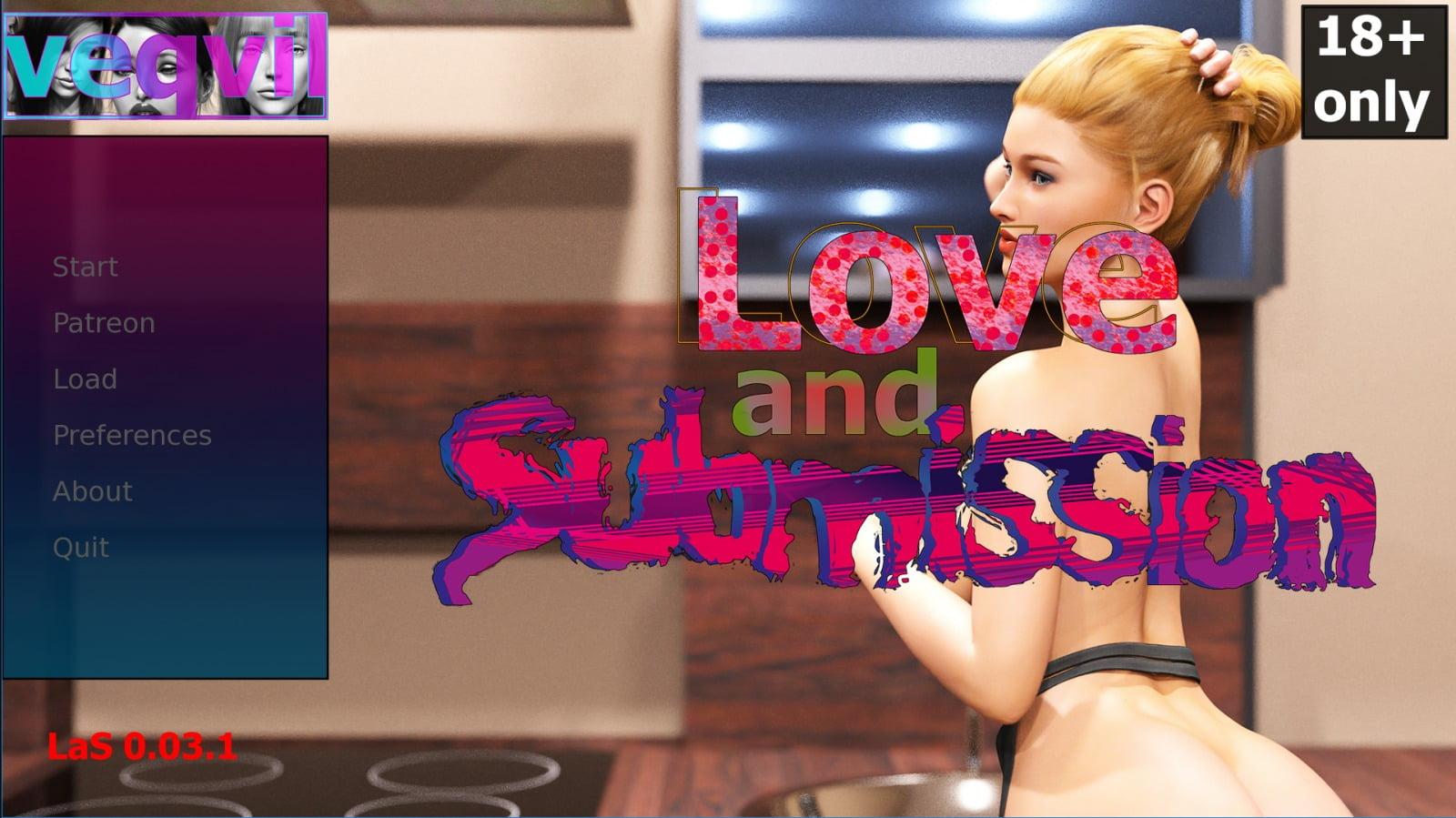 Love and Submission Adult Game Cover