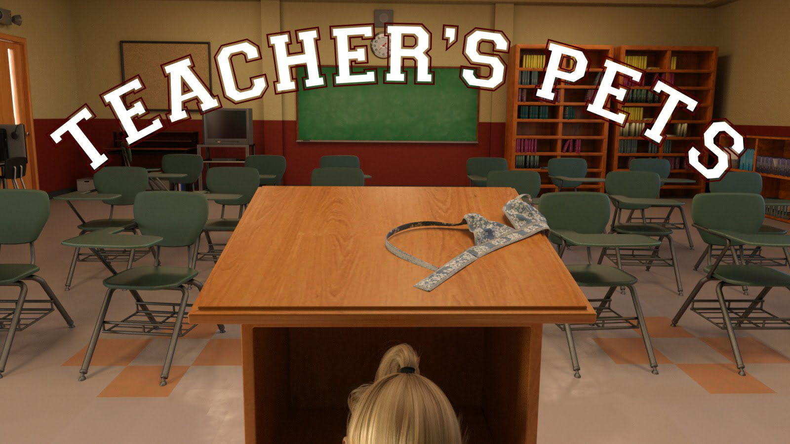 Teacher's Pets Adult Game Cover