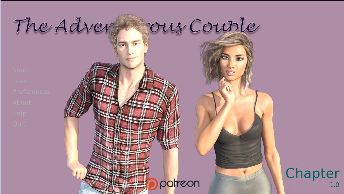 The Adventurous Couple Adult Game Cover