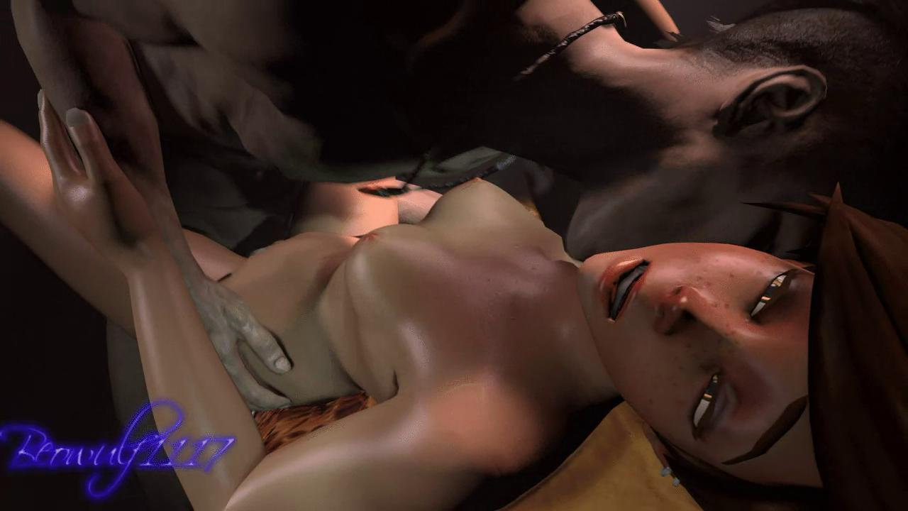Dante and Tracer Crossover Sex