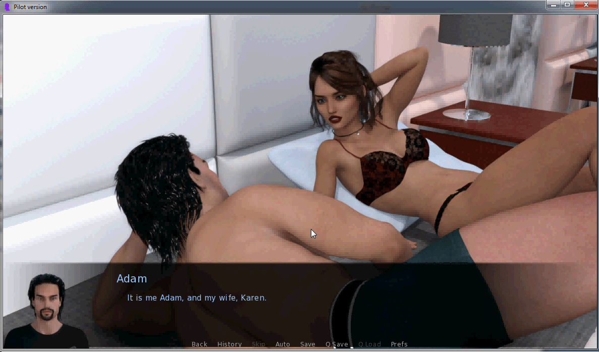 Lost in Temptation Adult Game Cover