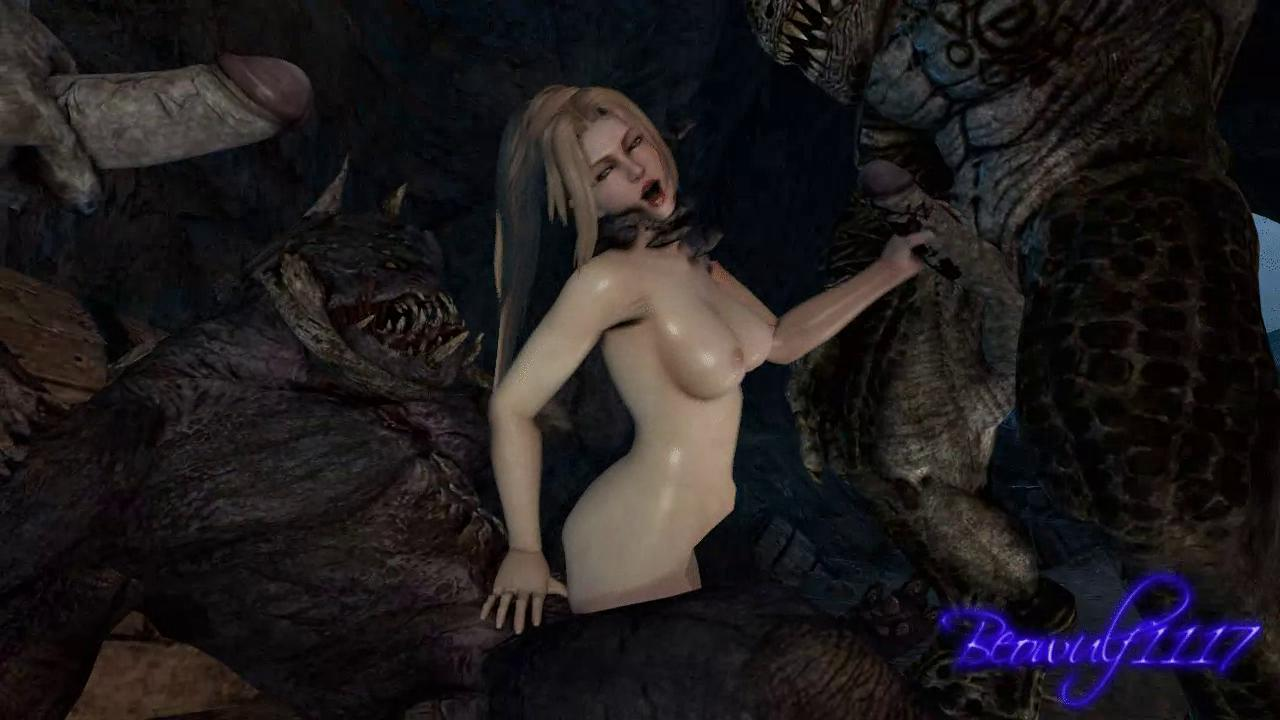 Monsters Gangbang Rachel From Dead Or Alive