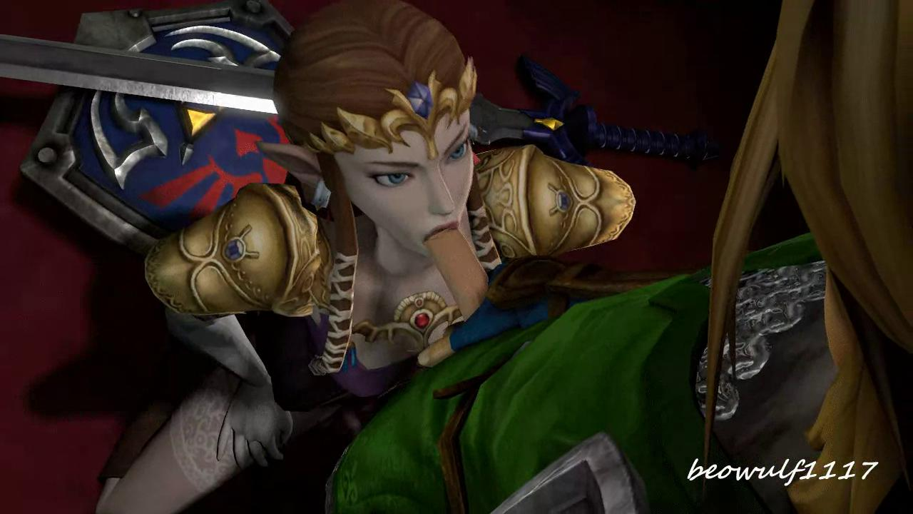 Princess Zelda Is Giving A Blowjob