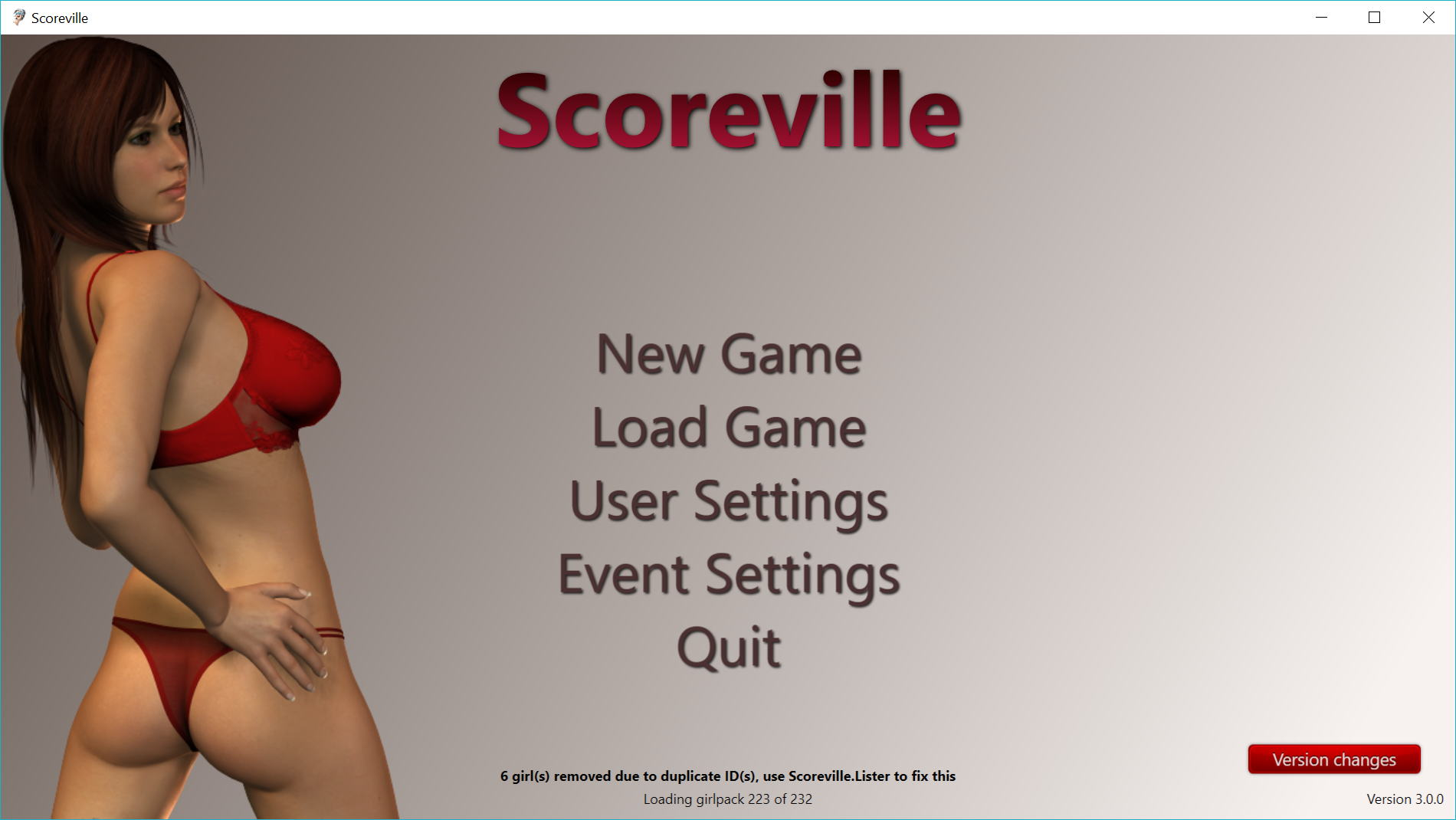 Scoreville Adult Game Cover