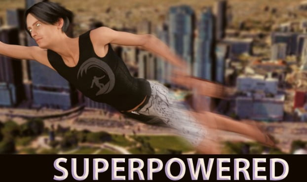 SuperPowered Adult Game Cover