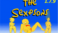 The Sexpsons 18+ Adult game cover