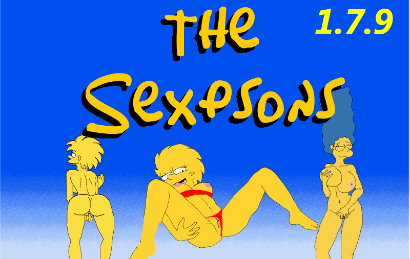 The Sexpsons Adult Game Cover