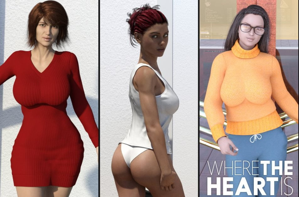 Where The Heart Is Adult Game Cover