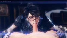 Bayonetta Blowjob Adult Animation