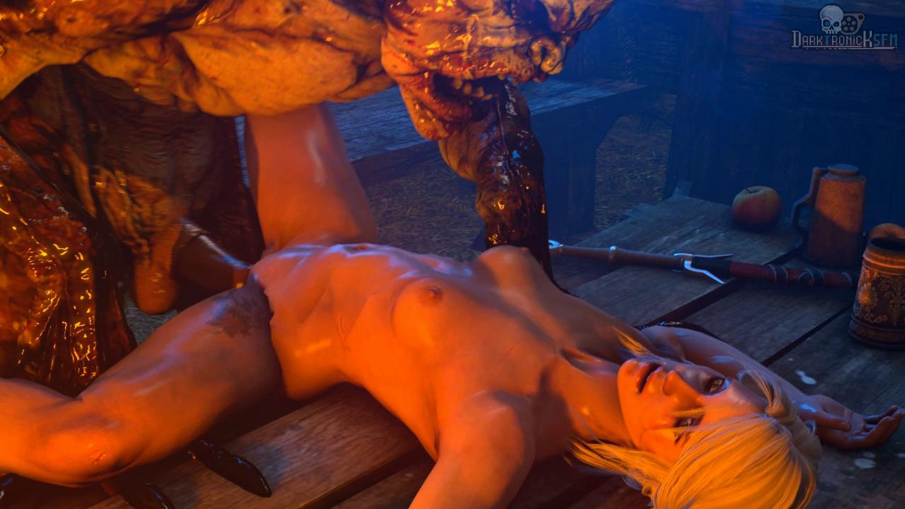 Ciri Table Fuck with a Ghoul