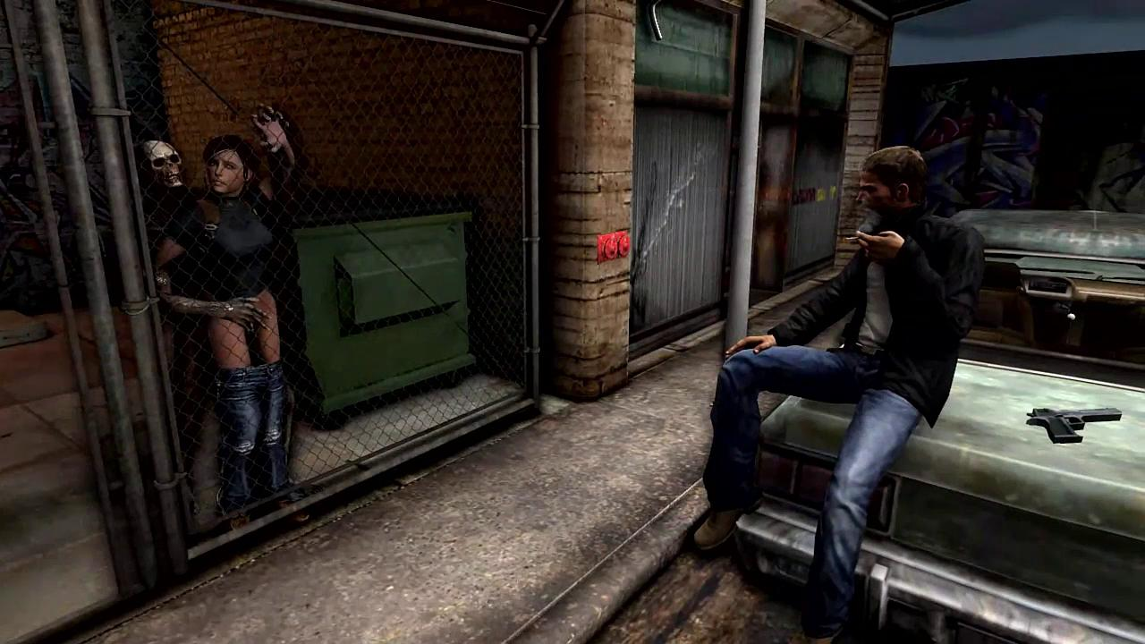 Claire Redfield Fucked by a Zombie