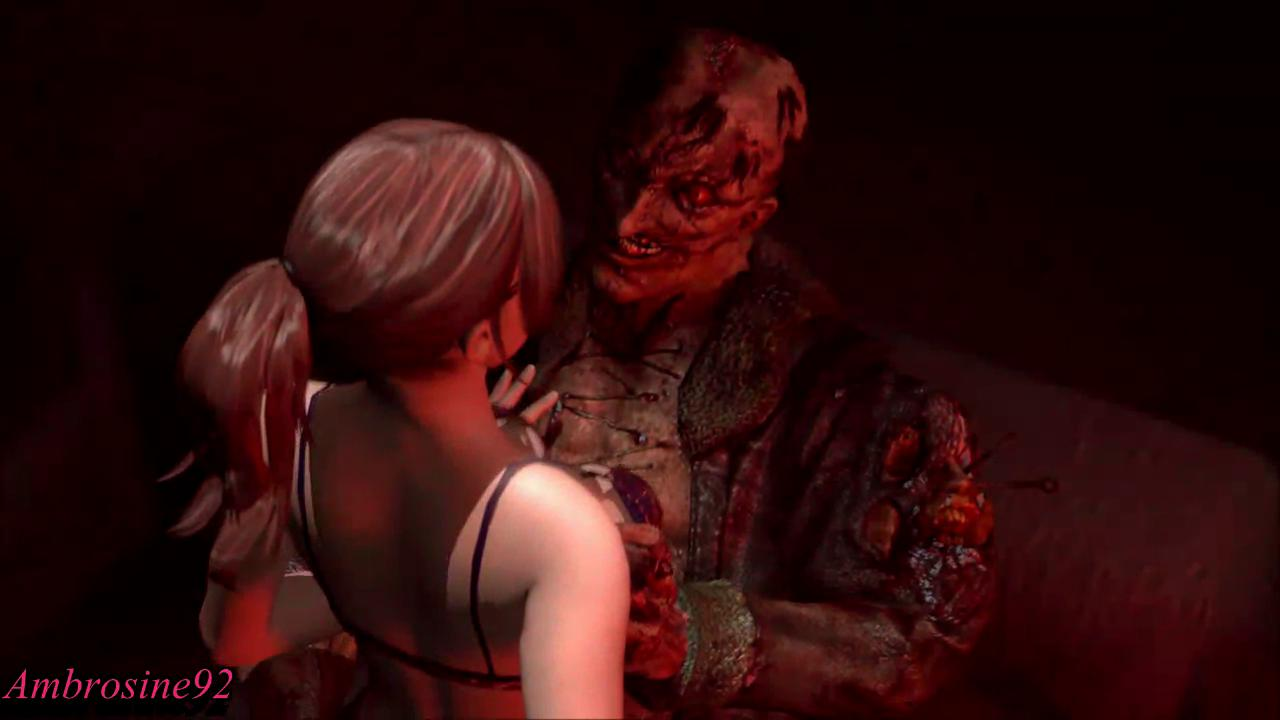 Claire Redfield Nightmare Fuck