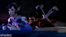 D.Va and Mercy Tongue Experiments Adult Animation