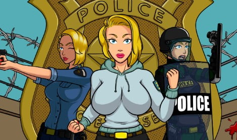 Futa in the Police Academy Adult Game Cover