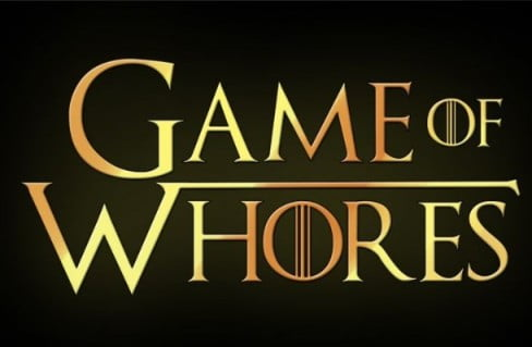 Game of Whores Adult Game Cover