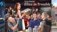 Girls Hostel: Elisa in Trouble 18+ Adult game cover
