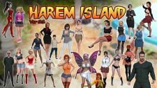 Harem Island 18+ Adult game cover