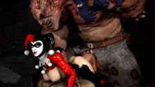 Harley Quinn Doggystyle Monster Fuck Adult Animation