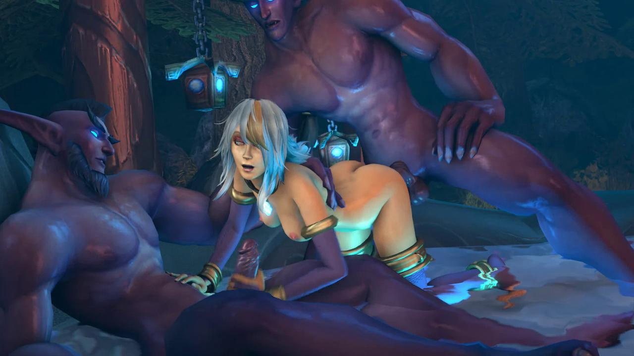 Jaina Proudmoore Night Elfs Sex Party