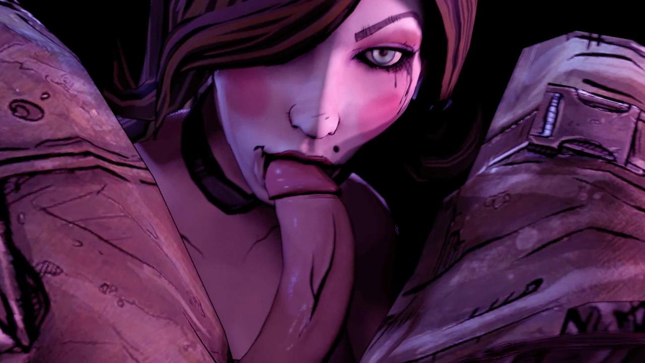 Mad Moxxi From Borderland  Doing Deep Throat