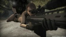 Metal Gear Quiet Sniper Distractions Adult Animation