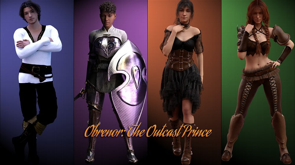 Obrenor: The Outcast Prince Adult Game Cover