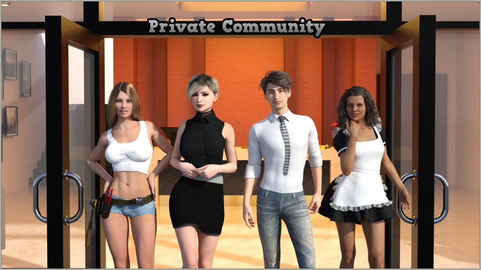 Private Community Adult Game Cover