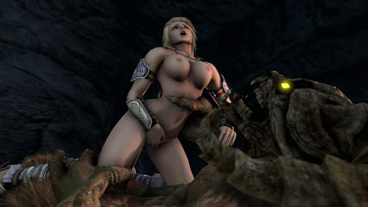 Minotaur Screws Sophitia Returns With Massive Dick