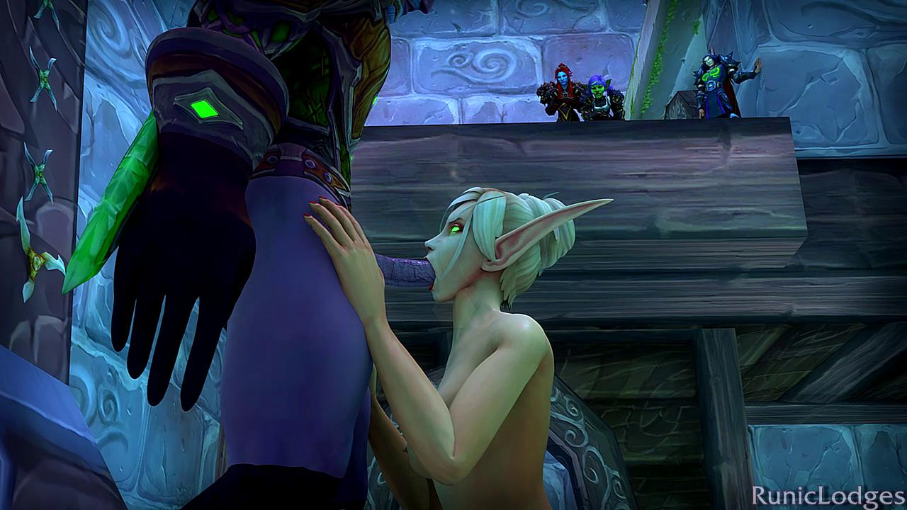 Stealthed Rogue Blowjob