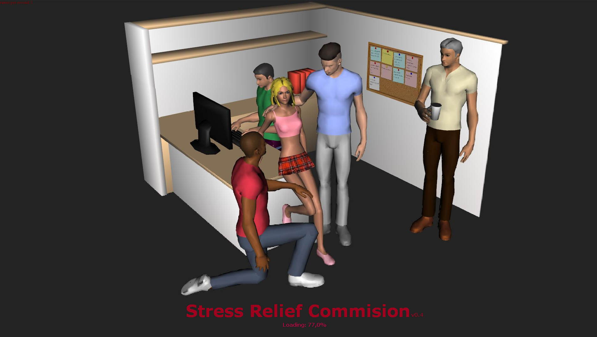 Stress Relief Commision Adult Game Cover