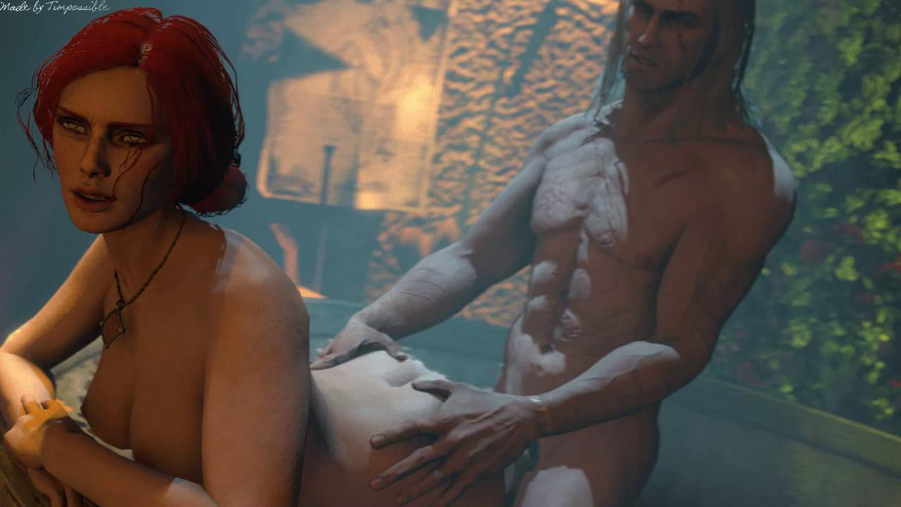 Triss Doggystyle Bathtub Fuck