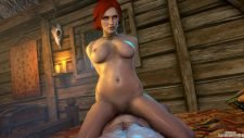 Triss Merigold Cowgirl Sex Adult Animation