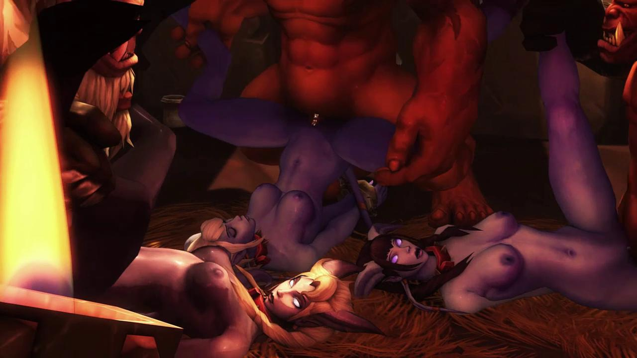Orgy in Prison of Warcraft