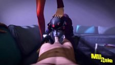 Widowmaker Deepthroat Blowjob Adult Animation